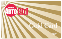 Gold Card from ViDi AutoCity